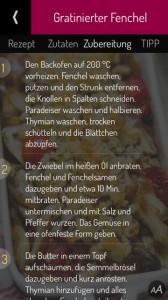 Sarah Wiener - einfach kochen! Rezepte-App