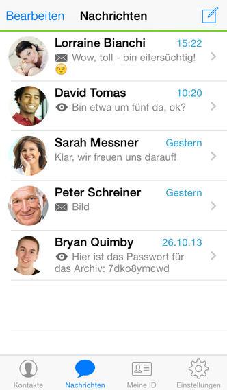 Threema passwort vergessen