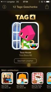 12 Tage Geschenke Toca House