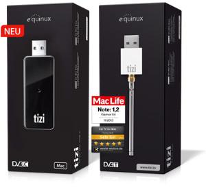 Tizi für Mac DVB-C und DVB-T