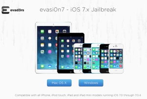 evasi0n7 Jailbreak iOS