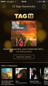 12 Tage Geschenke The Rolling Stones
