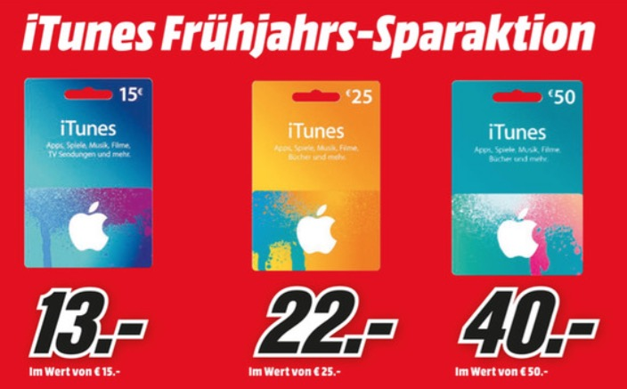 Media Markt iTunes