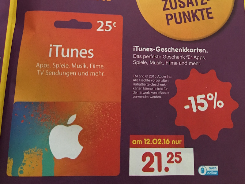 Netto iTunes Aktion