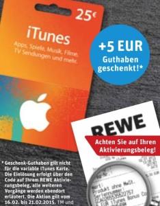 Rewe Februar iTunes
