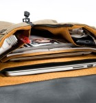 Staad BackPack - Slim - Interior view with gear