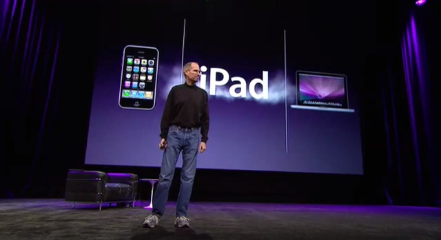 Steve Jobs Apple iPad