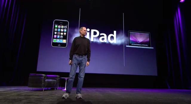 Steve Jobs Apple iPad