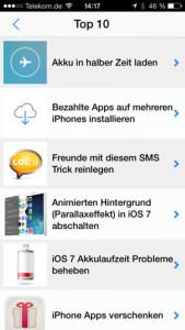 Tricks fürs iPhone hilft Einsteigern