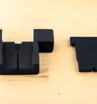 Hardwrk Massiv Dock Silikon Einlagen