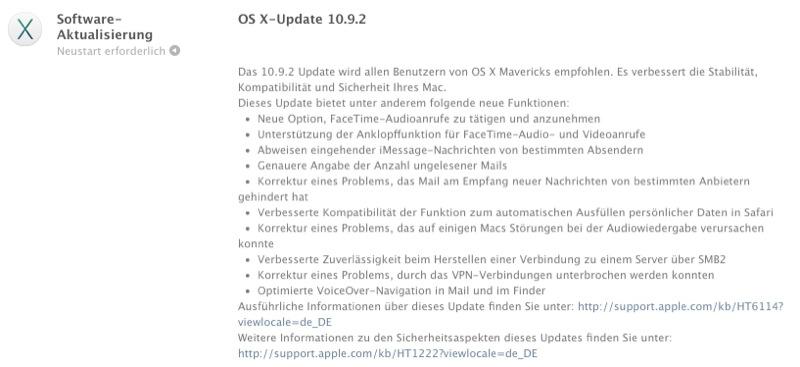 Mac OS X 10.9.2