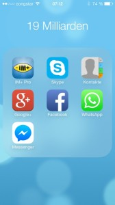 WhatsApp Facebook Folder