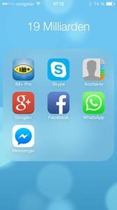 WhatsApp Facebook Folder
