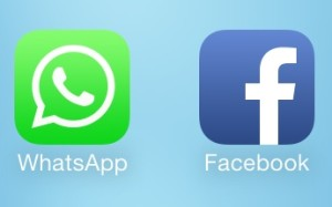 WhatsApp Facebook Icons