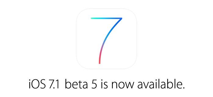 iOS 7.1 Beta 5