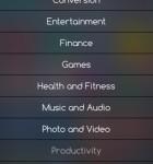 AppZilla 4 Kategorien