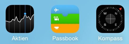 Die Apple Apps kann man vom Homescreen löschen