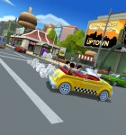 Crazy Taxi: City Rush alles für den Fahrgast