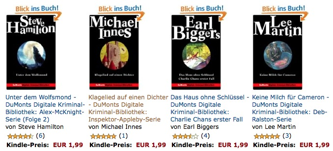 Kindle eBooks Sonderpreis
