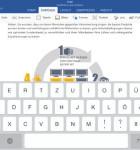 Microsoft Office fur iPad Word 1