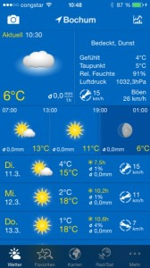 WeatherPro iPhone