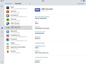 1Password iPad 2
