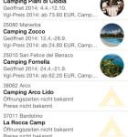 ADAC Camping und Stellplatzfuehrer Liste