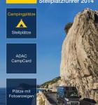 ADAC Camping und Stellplatzführer Startbildschirm