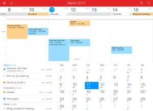 Fantastical 2 for iPad 2