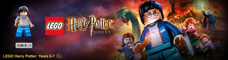 LEGO Harry Potter Banner