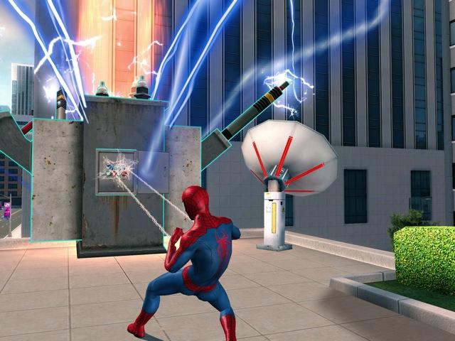 THE AMAZING SPIDER MAN 2 SPEL