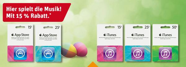 iTunes-Karten REWE