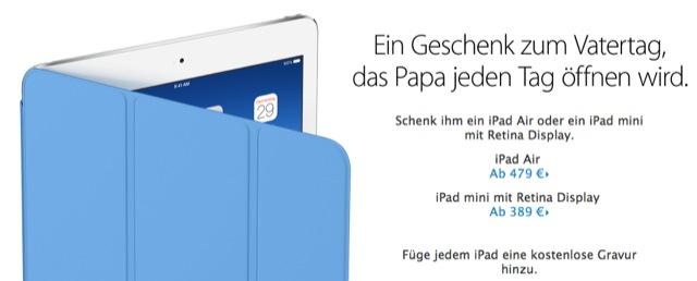 Apple Vatertag