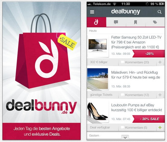 Dealbunny Screens