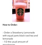 Secret Menu for Starbucks 2