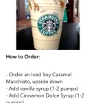 Secret Menu for Starbucks 3