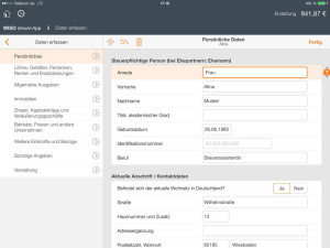 WISO steuer App 2014