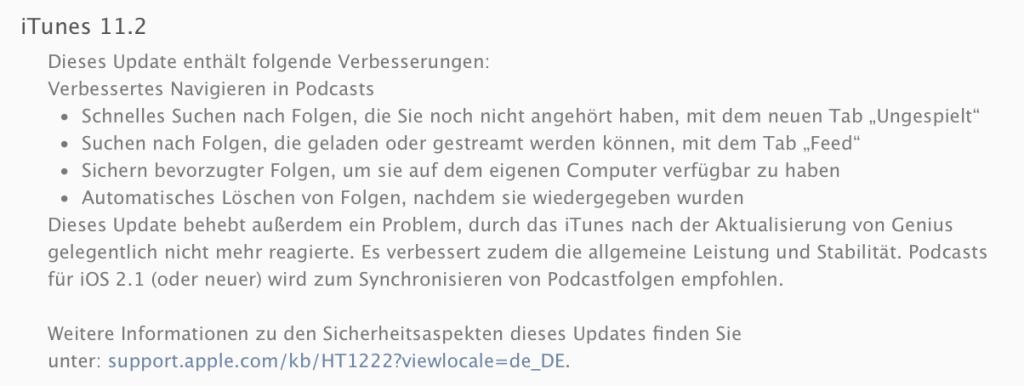 iTunes Update