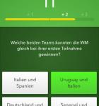 Fußball Quiz richtige Antwort