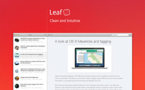 Leaf RSS-Reader