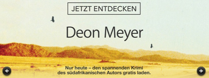 iBooks Store Deon Meyer