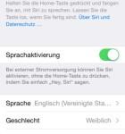 iOS 8 EInstellungen Siri Sprachaktivierung