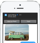 iOS 8 Mail Benachrichtigung