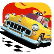 Crazy Taxi City Rush Icon
