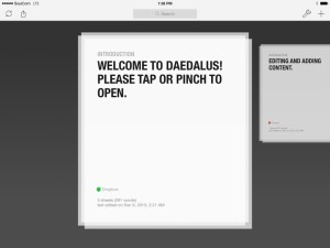 Daedalus Touch