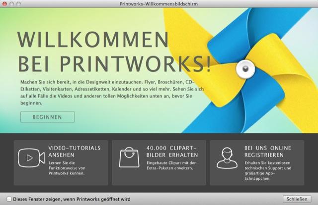 Printworks Neue Mac App Mit über 400 Professionellen Design