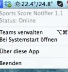 Sports Score Notifier 2