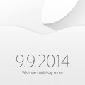 Apple Keynote am 9. Septemer
