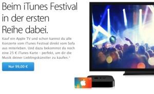 Apple TV iTunes Karte