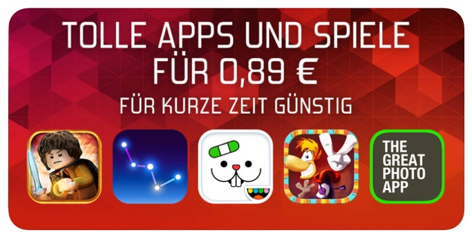 Tolle Apps Spiele 89 Cent